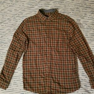 Other - Green, white, and red flannel